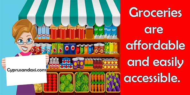 Groceries Are Cheap And Affordable In Cyprus