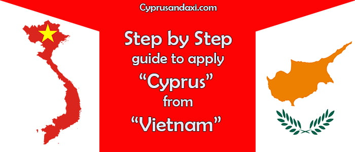 How to apply Cyprus on a student visa from Vietnam