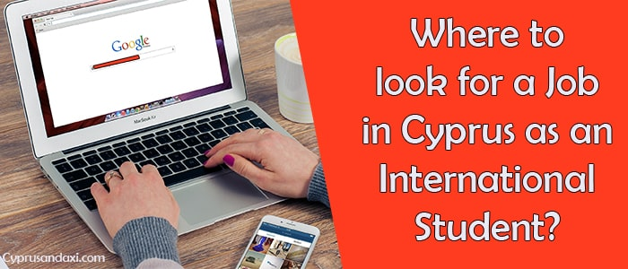 Where to look for a job in Cyprus for an International student