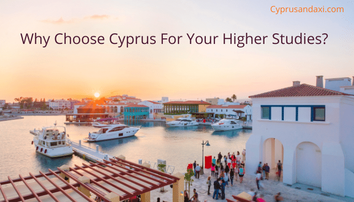 Why choose Cyprus for higher studies