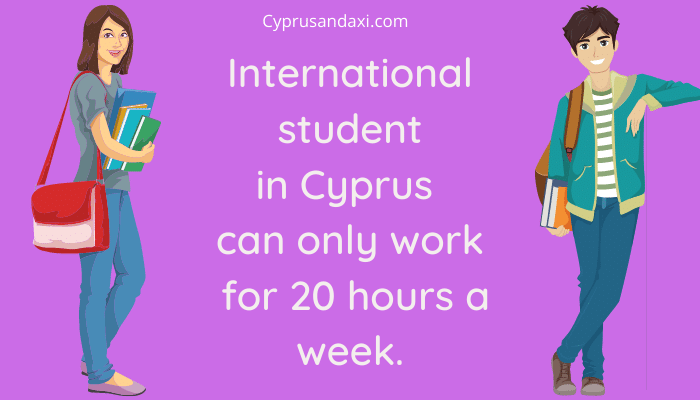 international student can only work for 20 hours a week