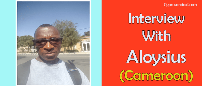 Interview With Aloysius From Cameroon Student Life In Cyprus