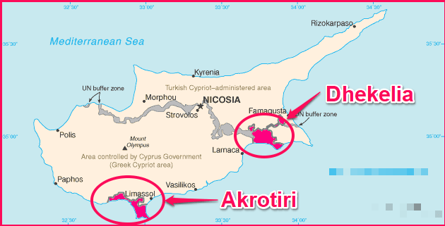 Akrotiri and Dhekhelia