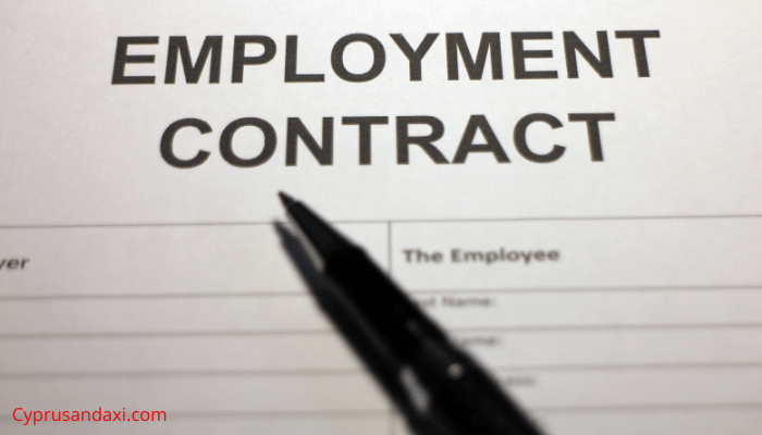 Housemaid's work contract