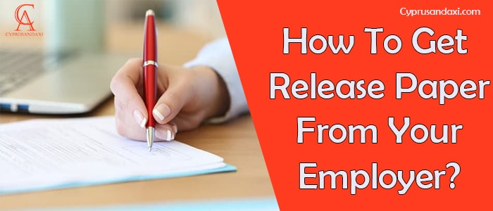 How To Legally Get A Release Paper From Your Employer