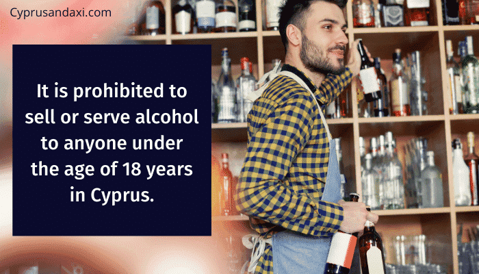 It is also prohibited to sell or serve alcohol to anyone under the age of 18 years