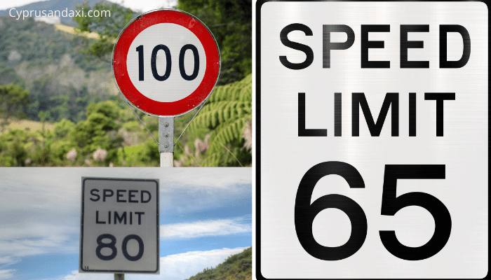 Speed Limit in Cyprus