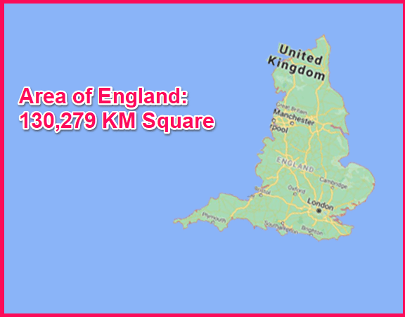 Area of England compared to Greece