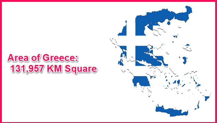 Area of Greece Compared to Turkey
