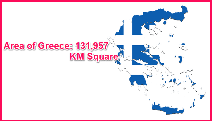 Area of Greece compared to Sweden