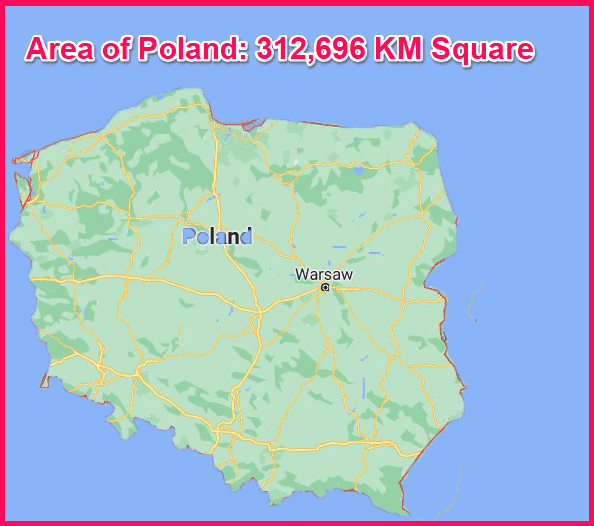 Area of Poland compared to Cyprus