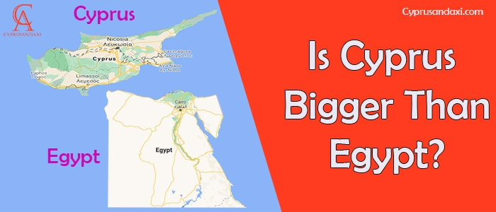 Is Cyprus Bigger Than Egypt