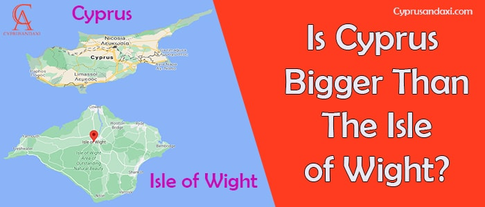 Is Cyprus Bigger Than The Isle of Wight