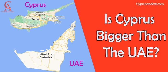 Is Cyprus Bigger Than The UAE