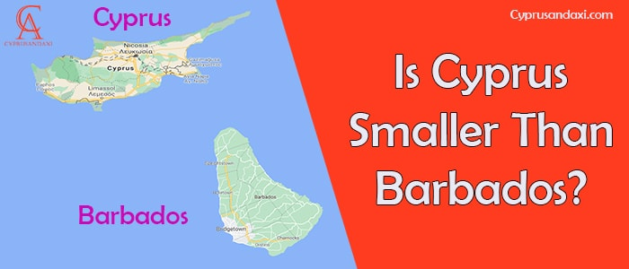 Is Cyprus Smaller Than Barbados