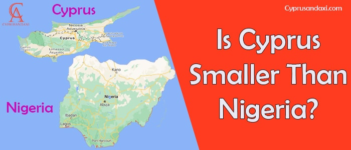 Is Cyprus Smaller Than Nigeria