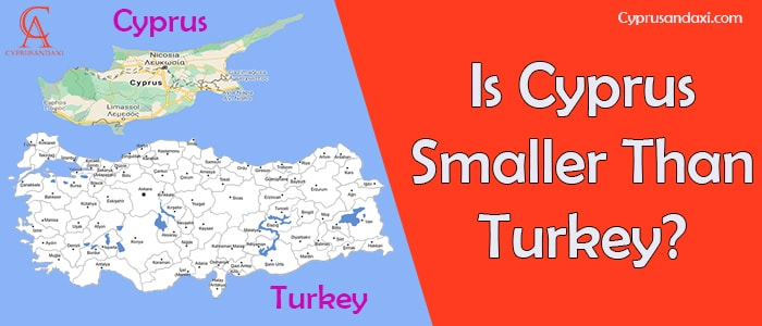 Is Cyprus Smaller Than Turkey