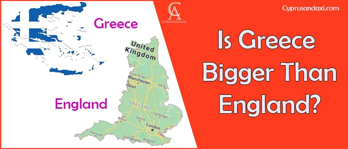 Is Greece Bigger Than England