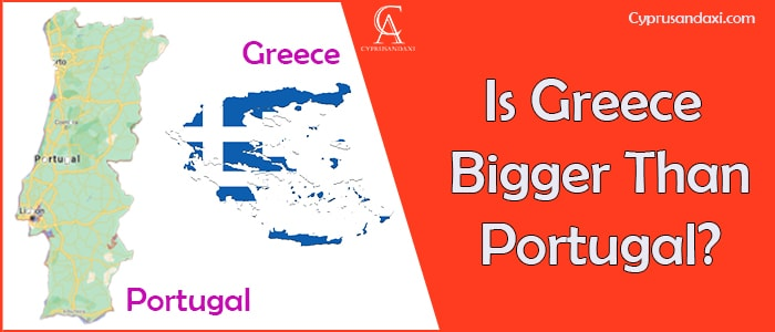 Is Greece Bigger Than Portugal