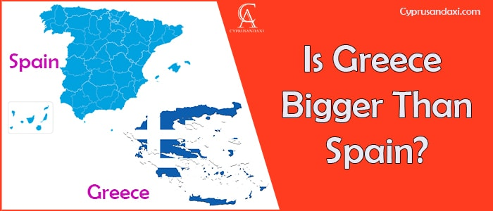 Is Greece Bigger Than Spain