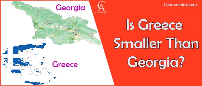 Is Greece Smaller Than Georgia Country