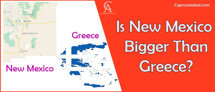 Is New Mexico Bigger Than Greece