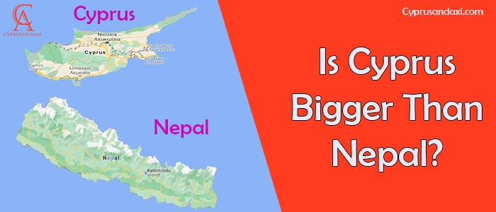 Is Cyprus Bigger Than Nepal