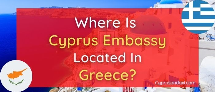 Where is Cyprus Embassy Located in Athens