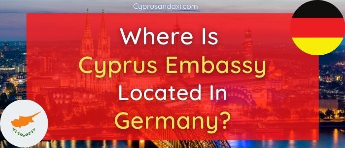 Where is Cyprus Embassy Located in Berlin, Germany