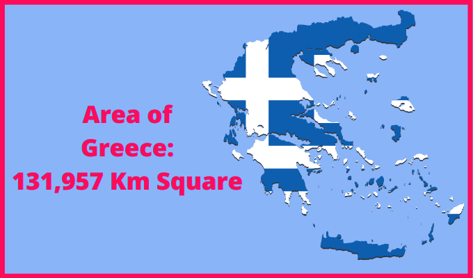 Area of Greece Compared to Egypt