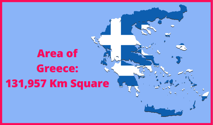 Area of Greece Compared to Luxembourg