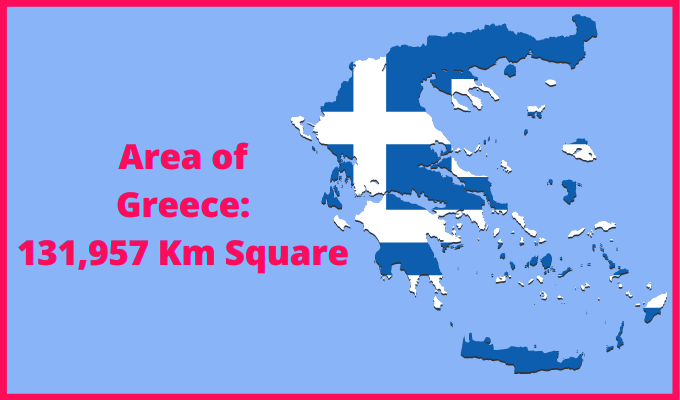Area of Greece Compared to Syria