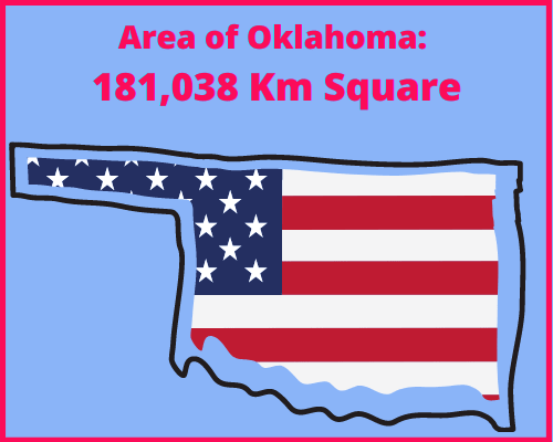 Area of Oklahoma compared to Cyprus