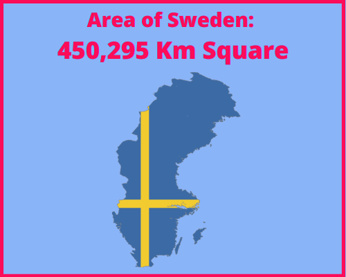 Area of Sweden compared to Cyprus