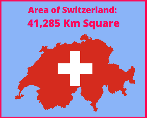 Area of Switzerland compared to Cyprus
