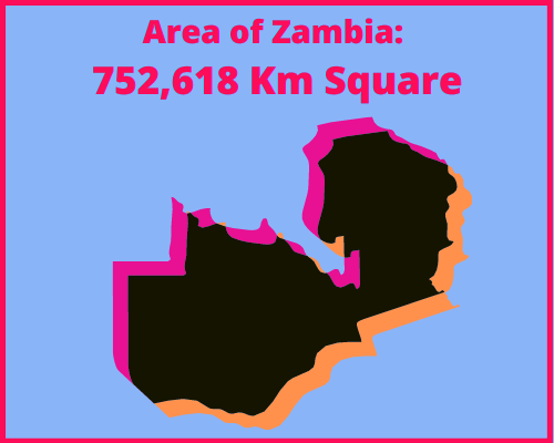 Area of Zambia compared to Cyprus