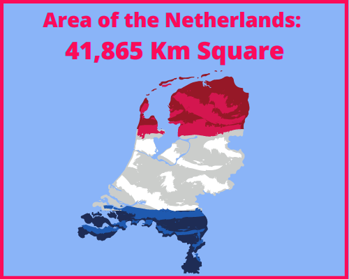 Area of the Netherlands compared to Cyprus