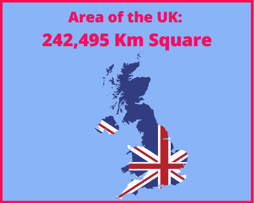 Area of the UK compared to Cyprus