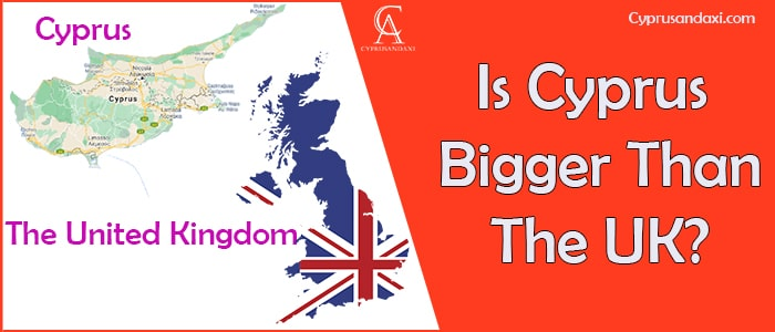 Is Cyprus Bigger Than The UK
