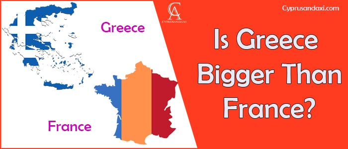 Is Greece Bigger Than France