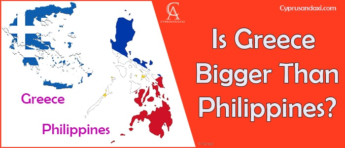 Is Greece Bigger Than Philippines