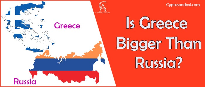 Is Greece Bigger Than Russia