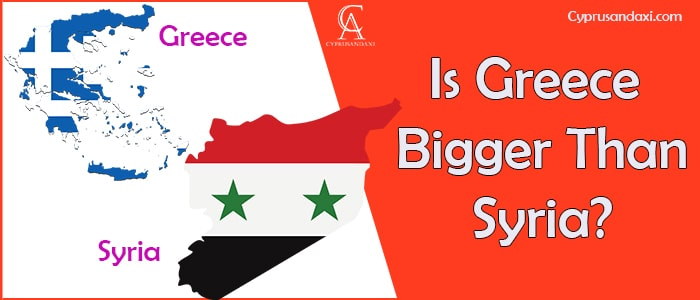 Is Greece Bigger Than Syria
