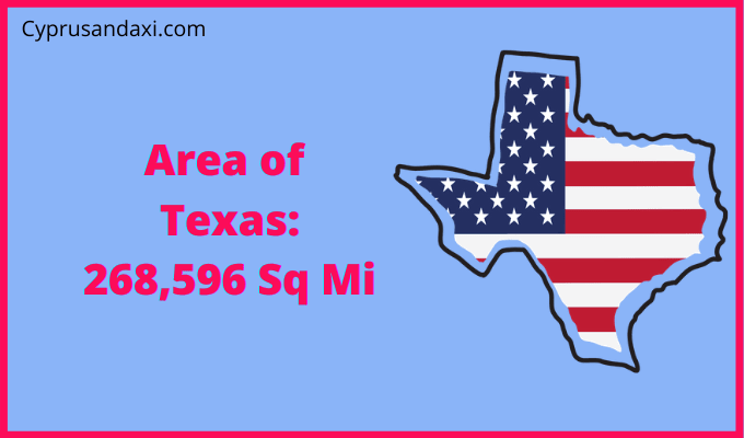 Area of Texas compared to Chihuahua