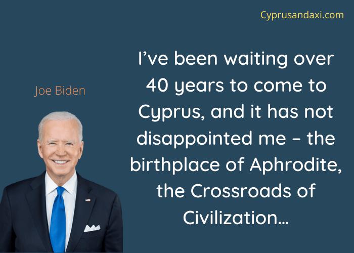 Cyprus Quote by Joe Biden