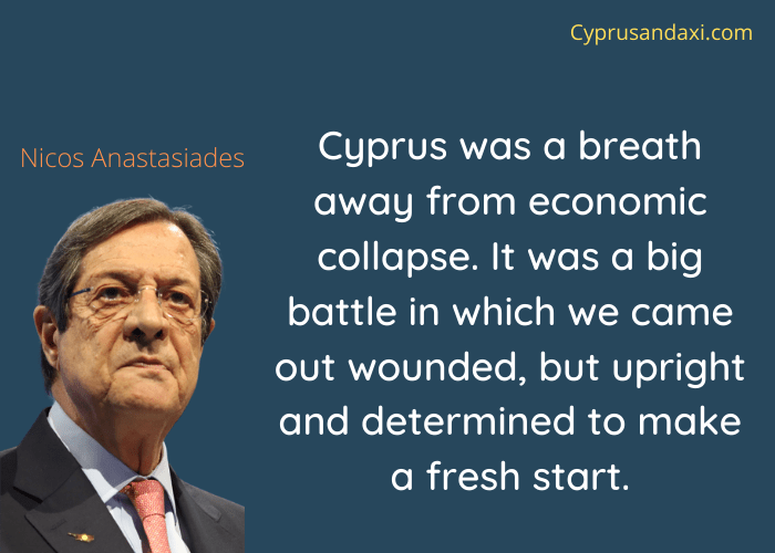 Cyprus quote by Nicos Anastasiades