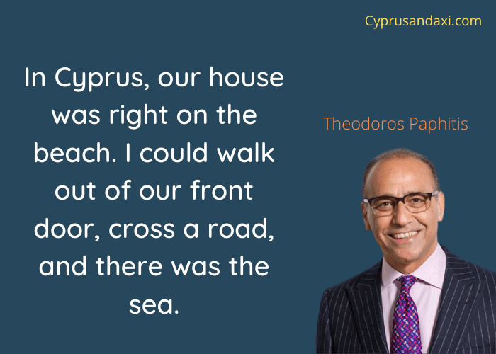 Cyprus quote by Theodoros Paphitis