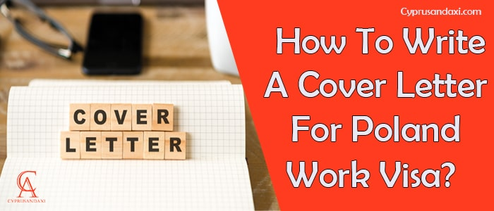 How to write a cover letter for Poland work visa