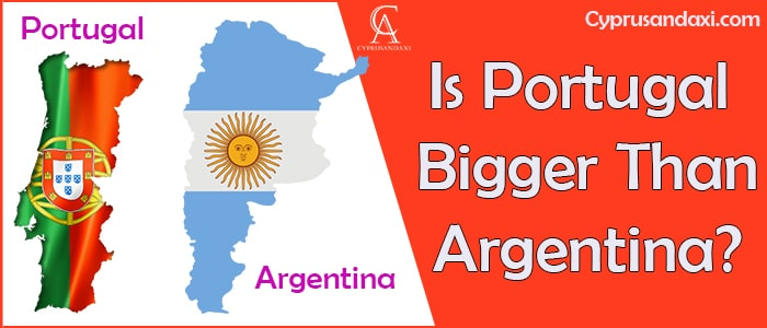 Is Portugal Bigger Than Argentina