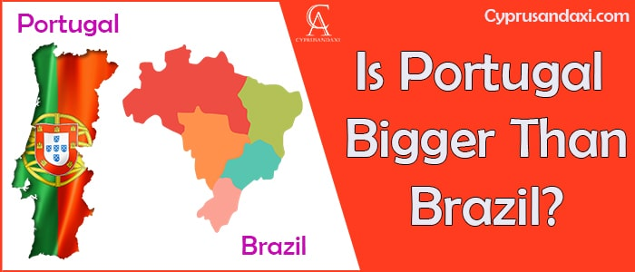 Is Portugal Bigger Than Brazil